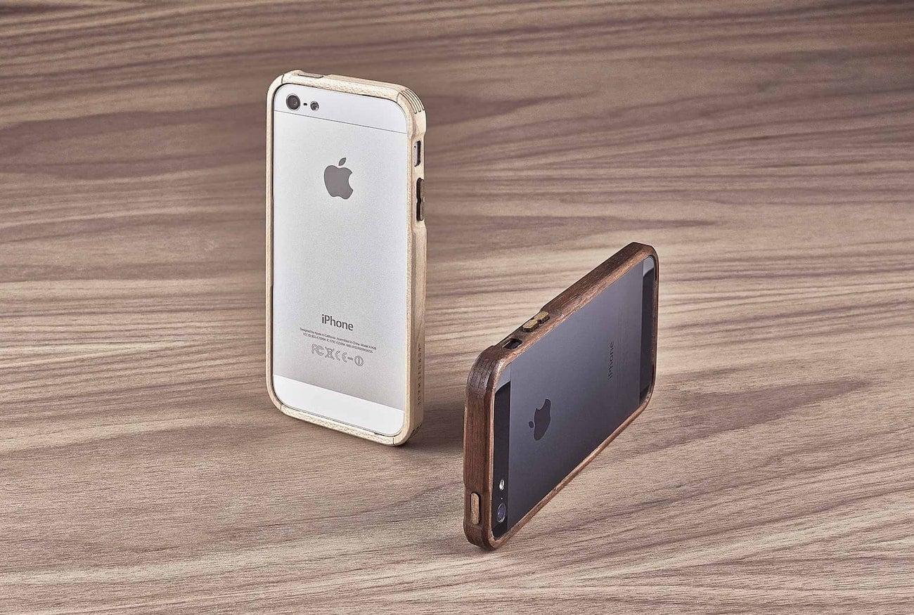 Grovemade Walnut iPhone Bumper
