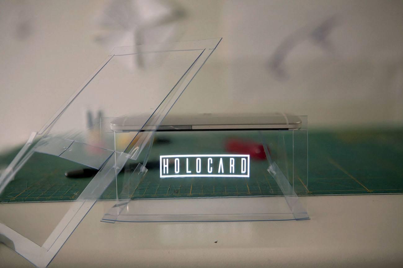 HOLOCARD Foldable Hologram Puzzle