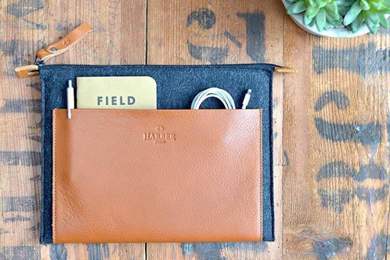 Harber+London+MacBook+Leather+Folio
