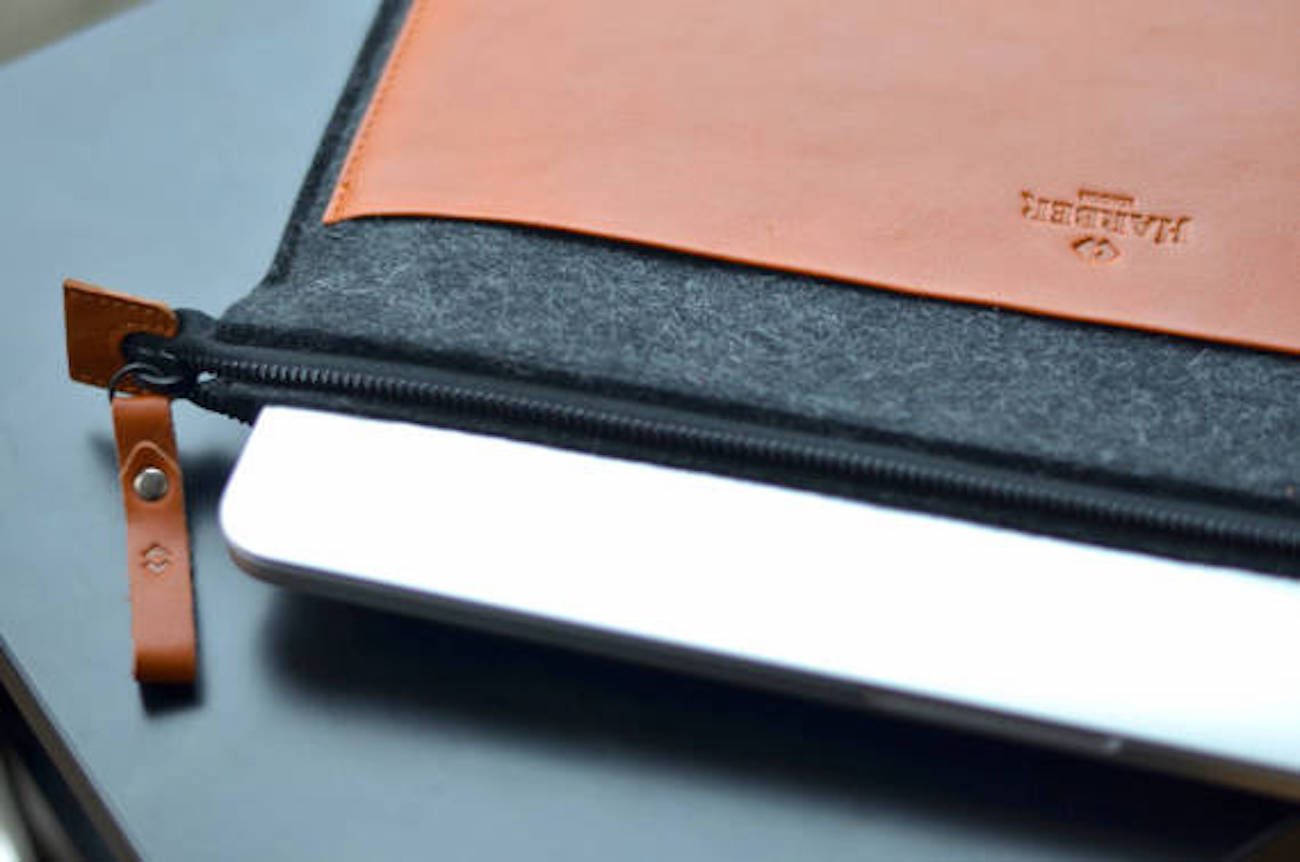 Harber London MacBook Leather Folio