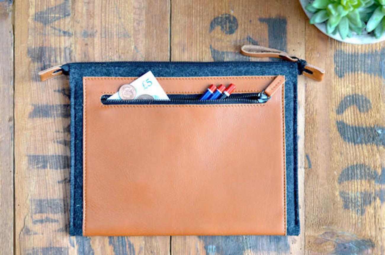 Harber London MacBook Leather Folio