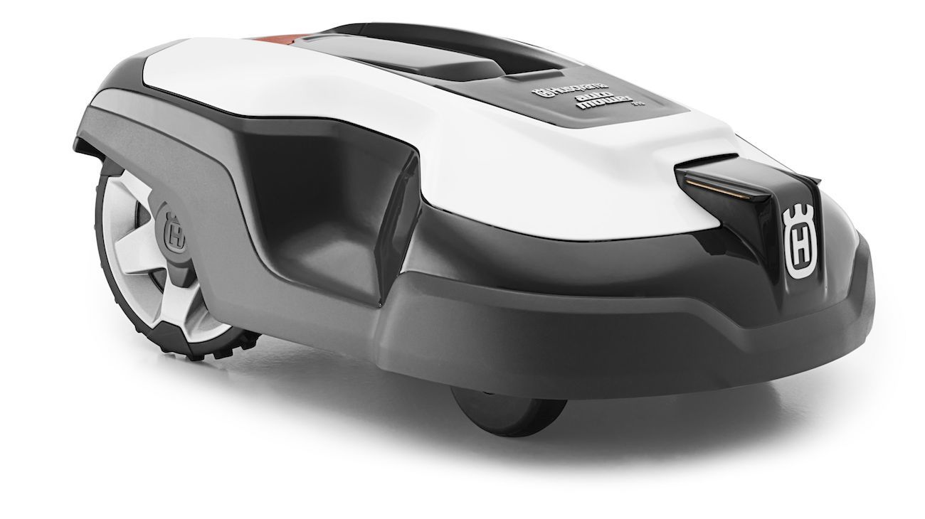 husqvarna automower 315 robotic lawn mower review the gadget flow. Black Bedroom Furniture Sets. Home Design Ideas