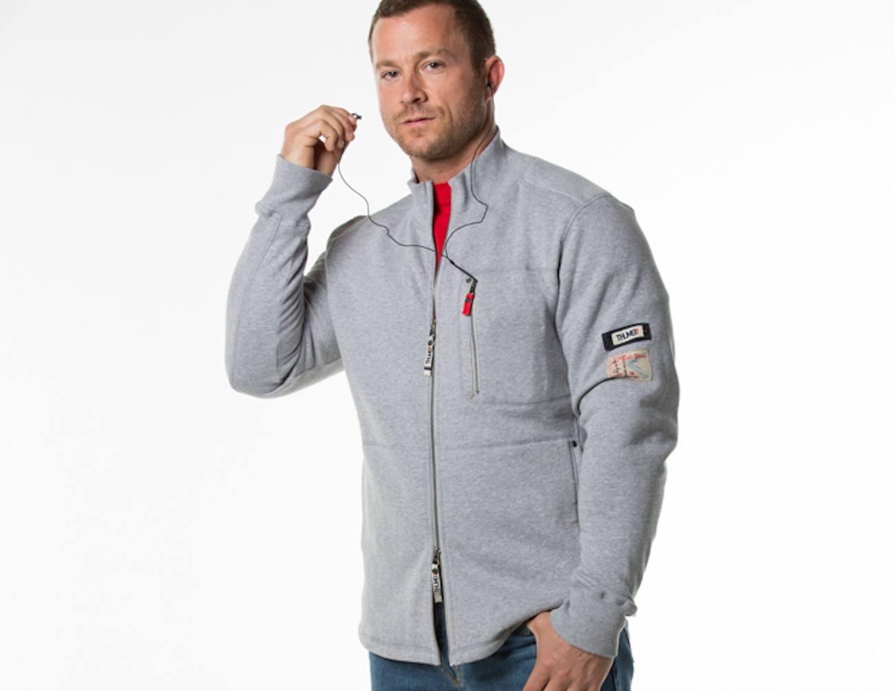 Inside Pocket Innovative Sweatshirt