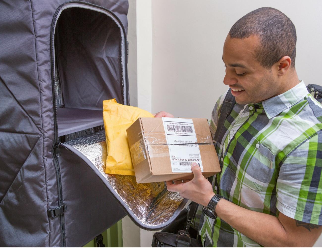 Jeffrie Smart Home Mailbox
