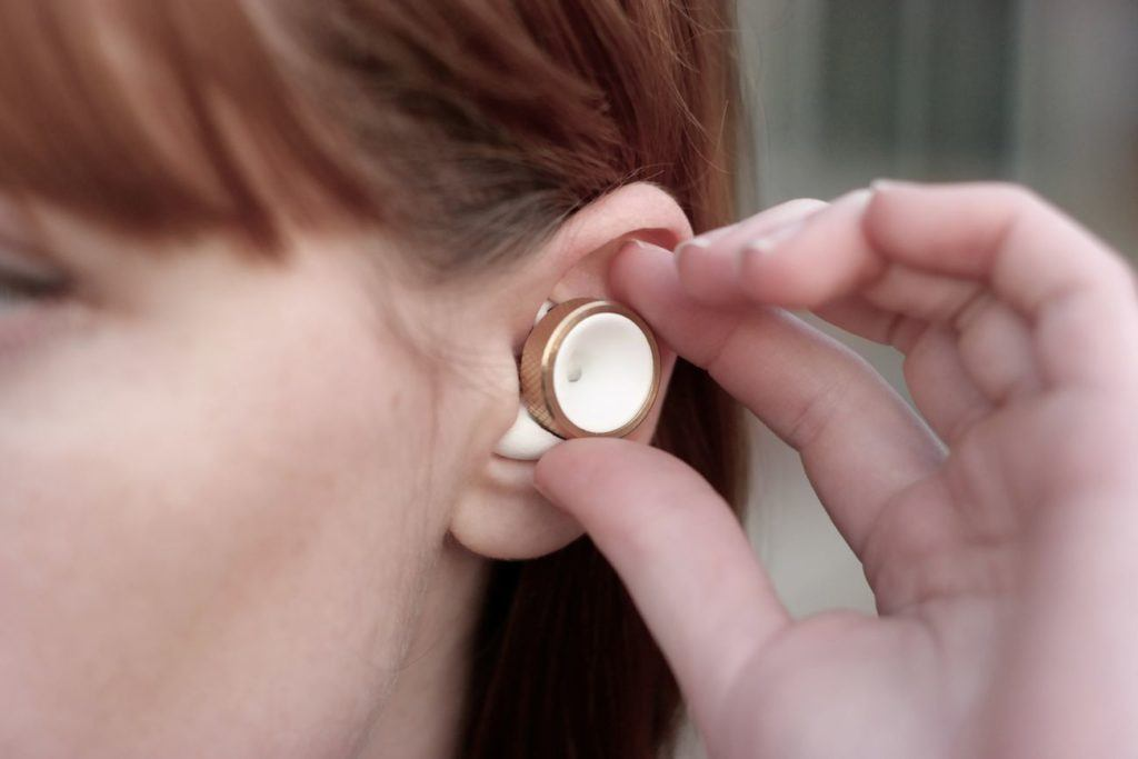 Knops adjustable hearing buds tune out the world around you