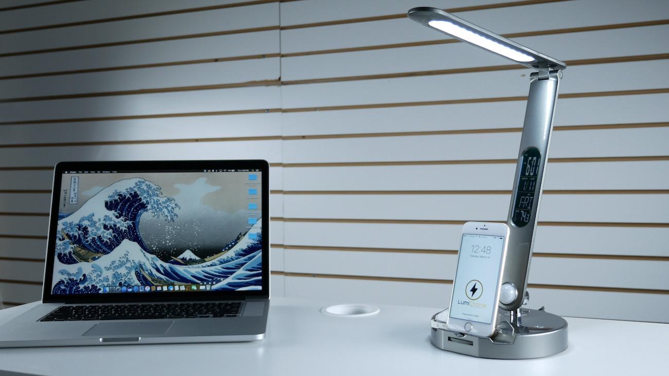 LumiCharge LED Smart Lamp