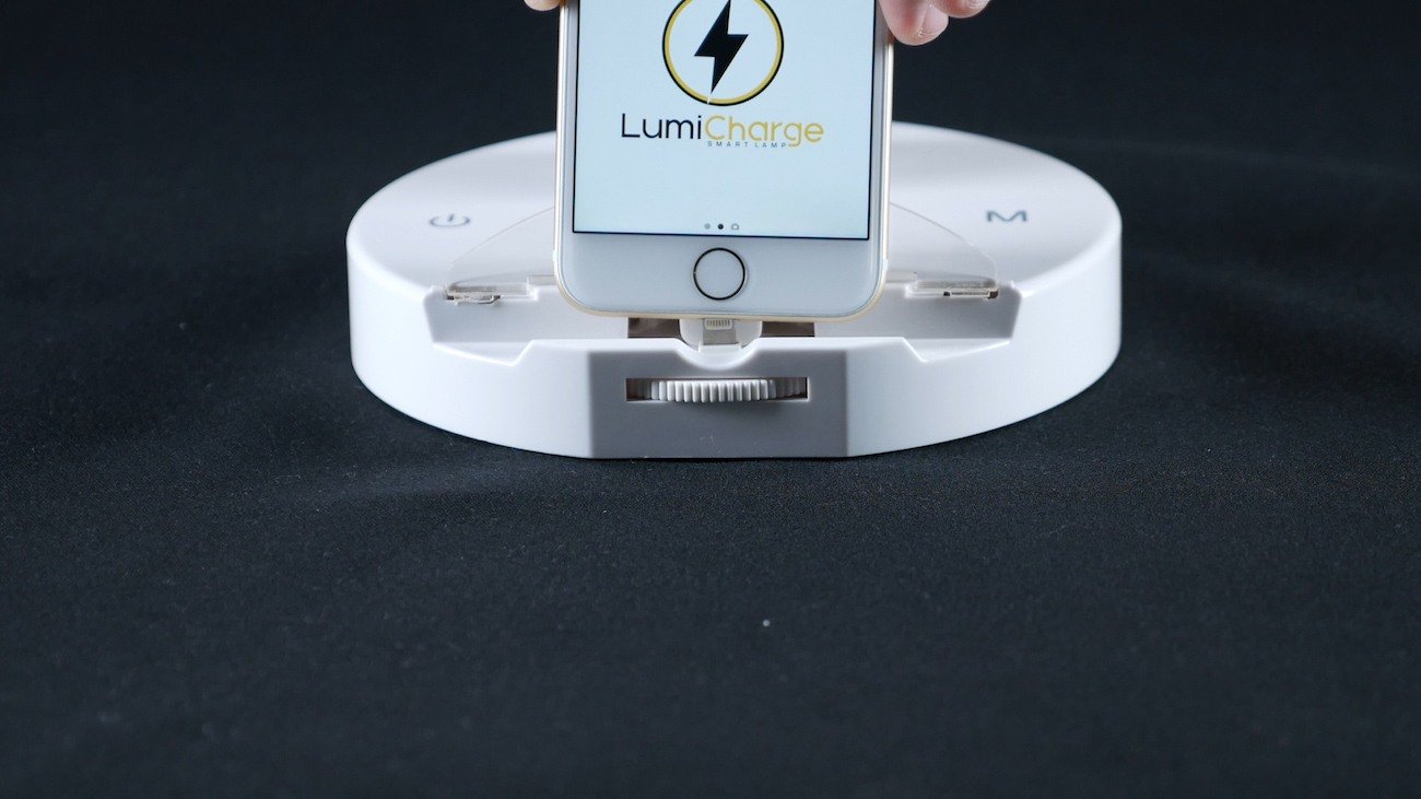 LumiCharge LED Smart Lamp