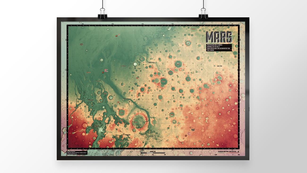 MARS Ultra Large Maps
