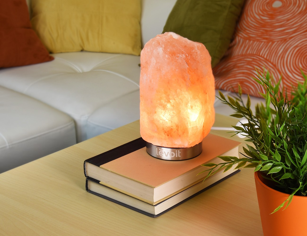 Himalayan Salt Lamps Purpose : Levoit Elora Himalayan Crystal Salt Lamp Gadget Flow