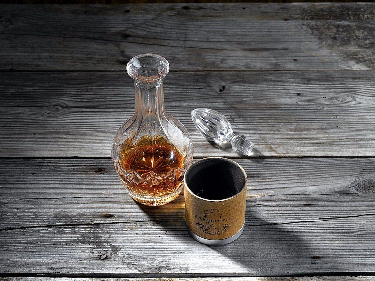 Oak Bottle Charred Tumbler
