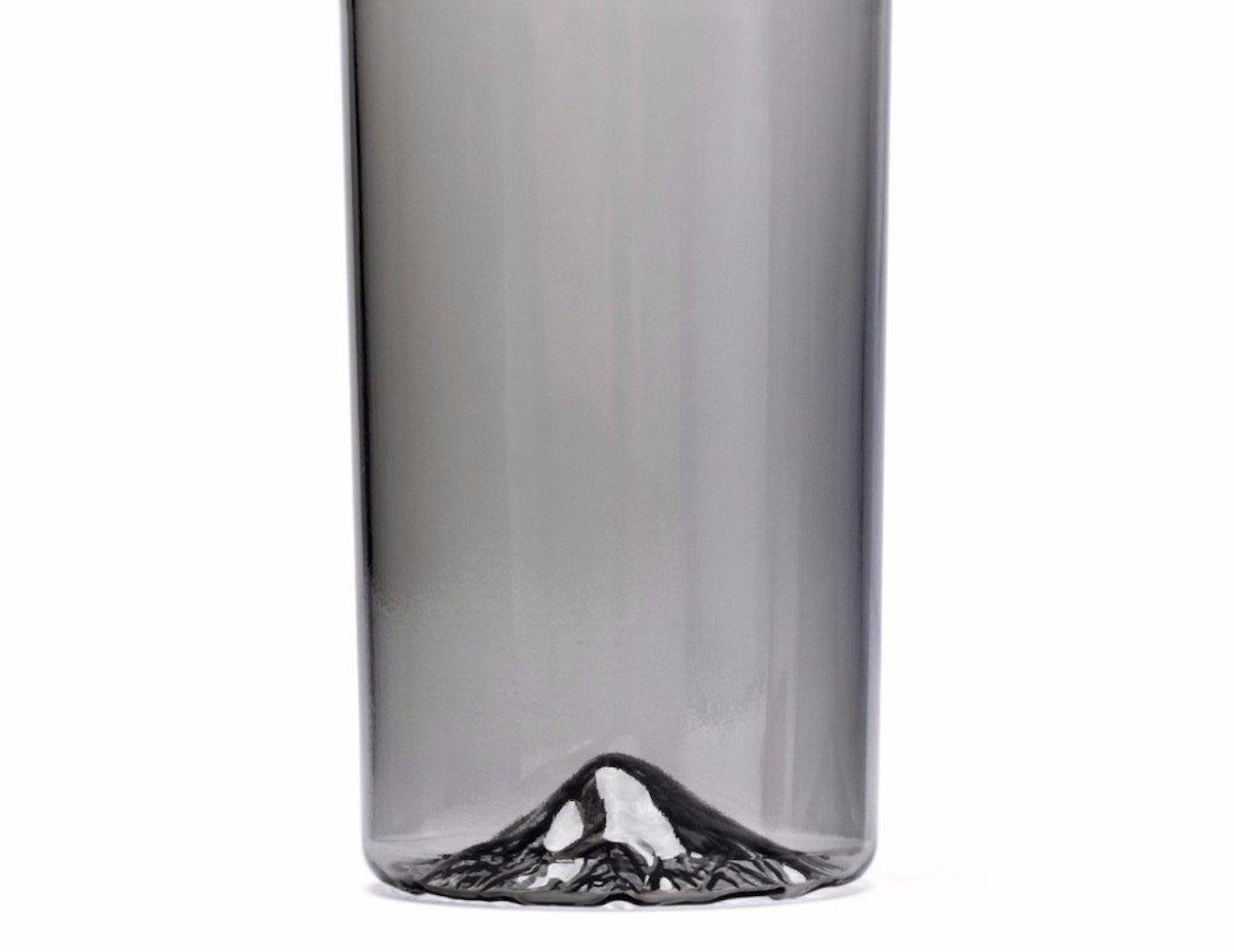 Obsidian Oregon Pint Glass