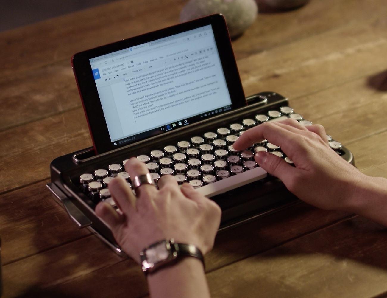 Penna+Retro+Bluetooth+Keyboard