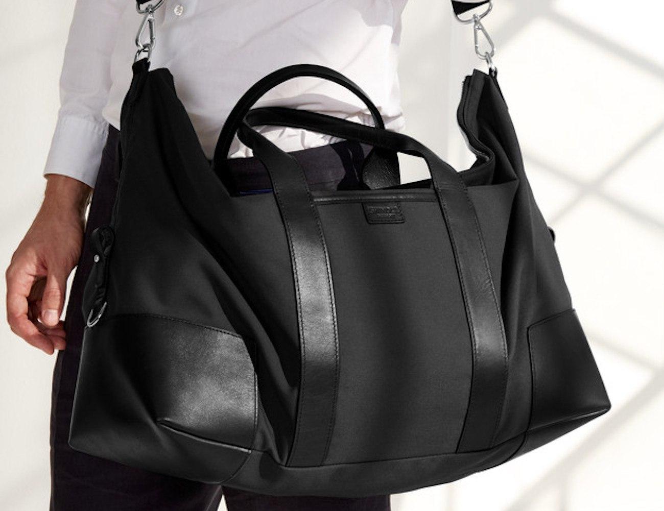 Shinola Large Leather Carryall