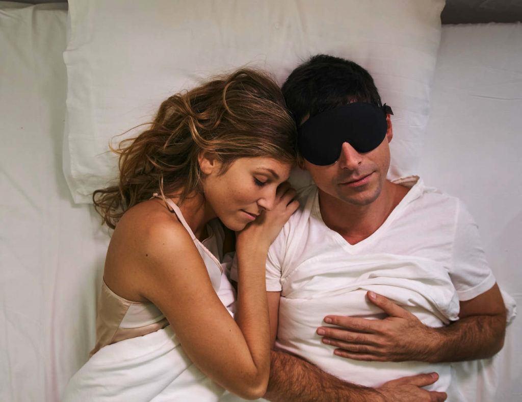 anti-snoring sleep mask