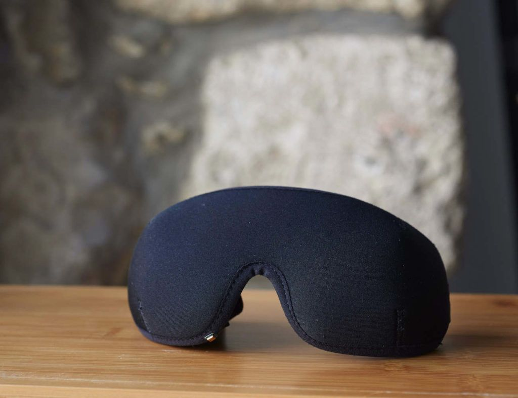 The Silent Partner SmartMask is a comfortable and intelligent anti-snoring sleep mask