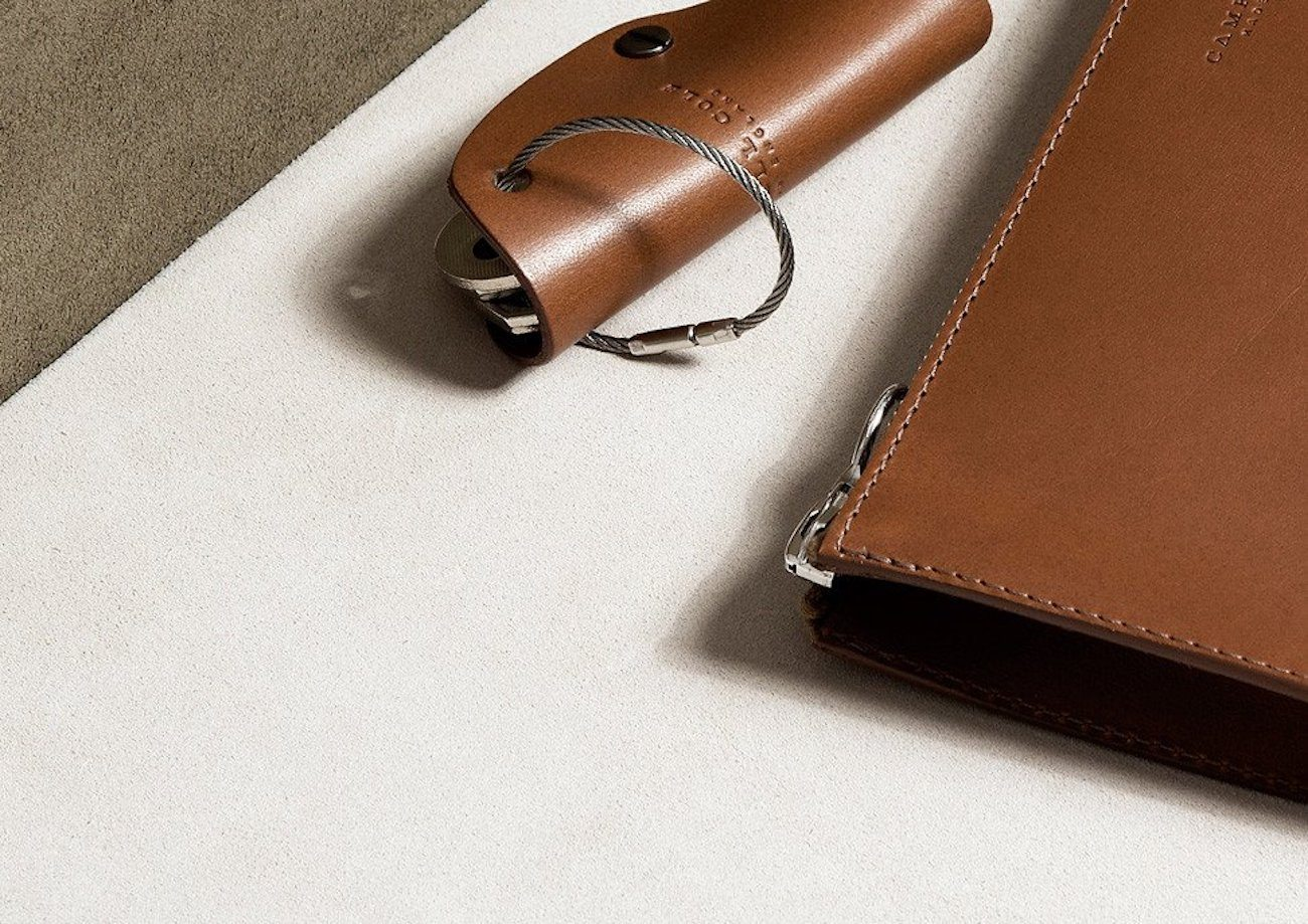 Simple Leather Key Wrap