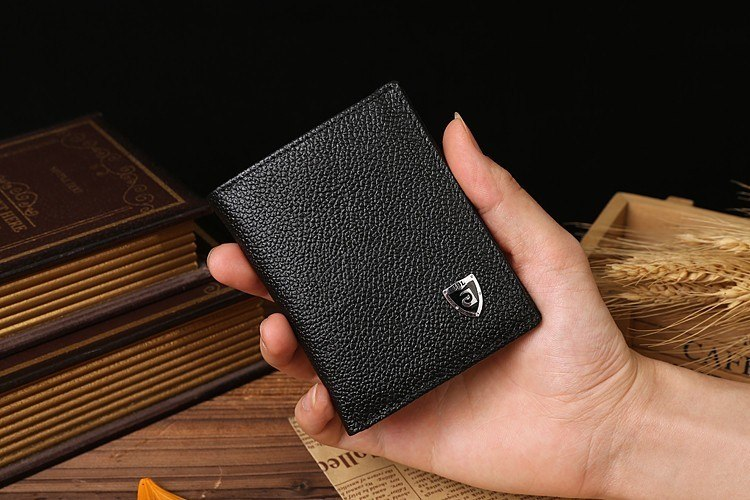 Slim+Leather+Wallet+For+Men