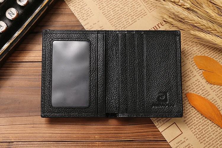 Slim Leather Wallet for Men