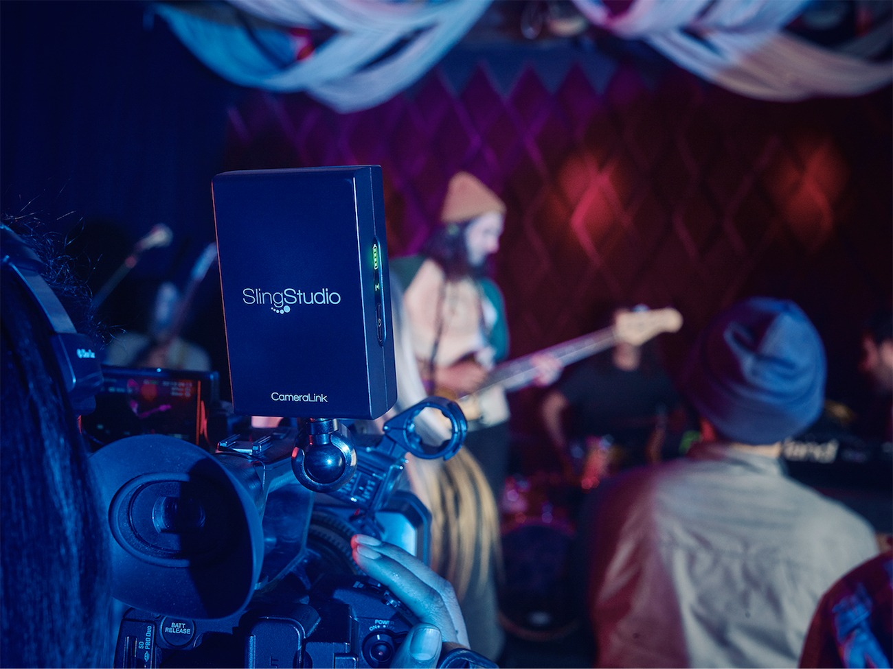 SlingStudio Multi-Camera Broadcaster
