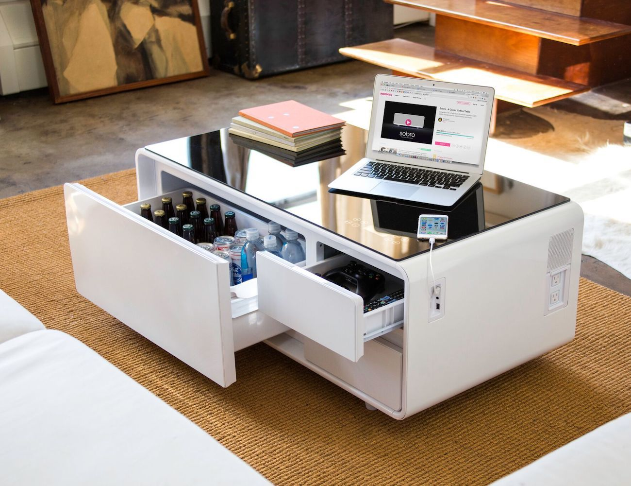 Beer Cooler Coffee Table Sobro Cooler Coffee Table Review The Gadget Flow