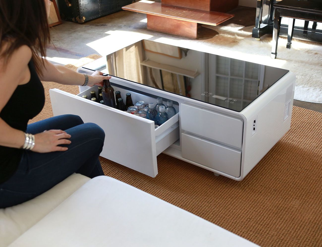 Coffee Table With Cooler Sobro Cooler Coffee Table 187 Gadget Flow