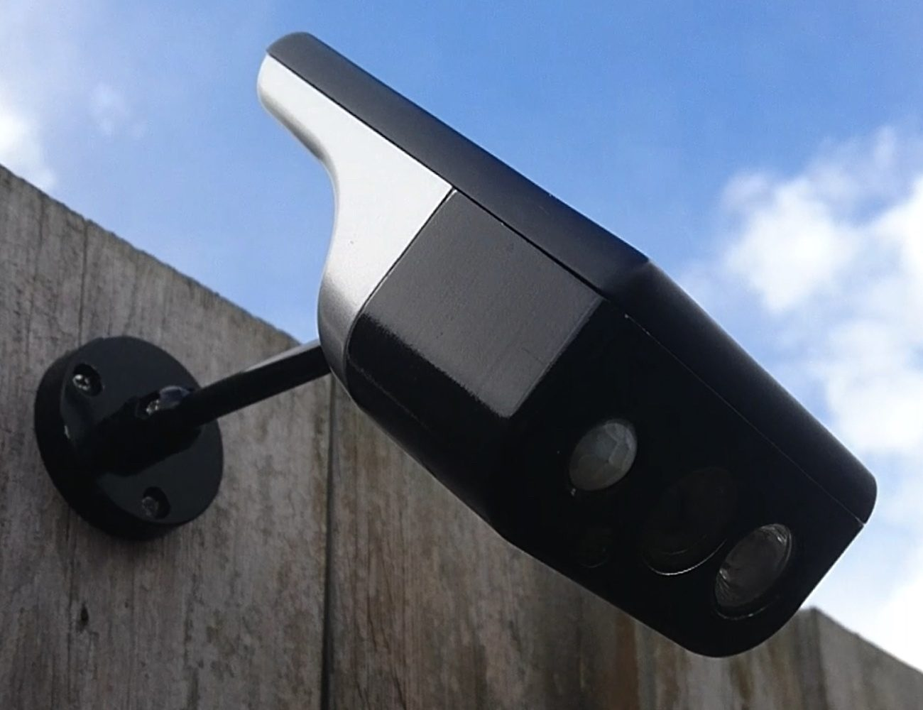 The Solar Cam is a truly wireless security camera