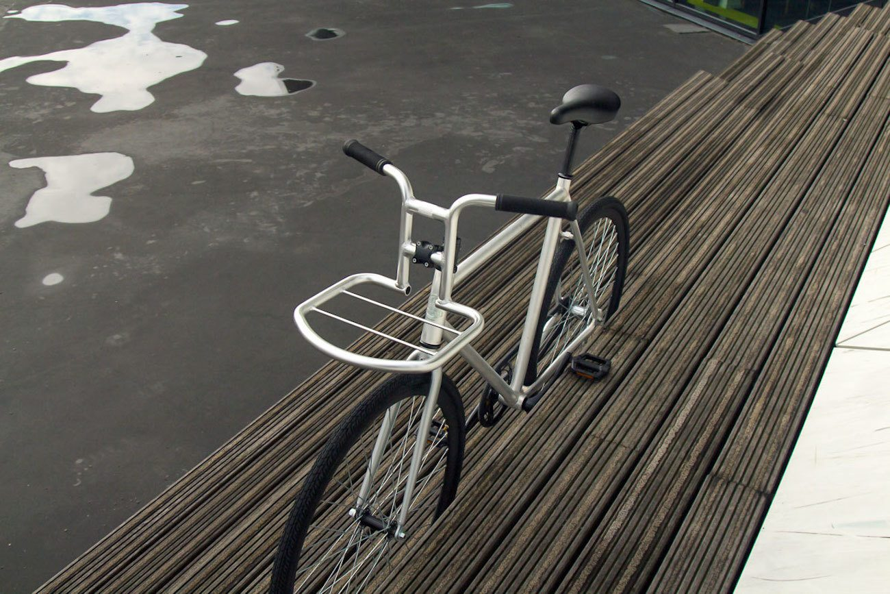 Steel Carrier Handle Bar Rack
