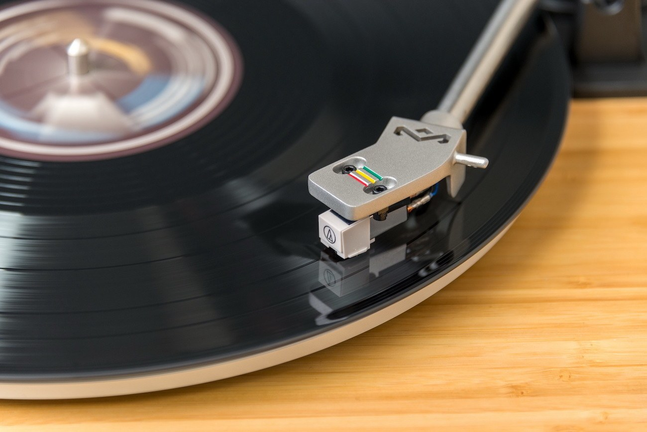 Stir It Up Bamboo Turntable