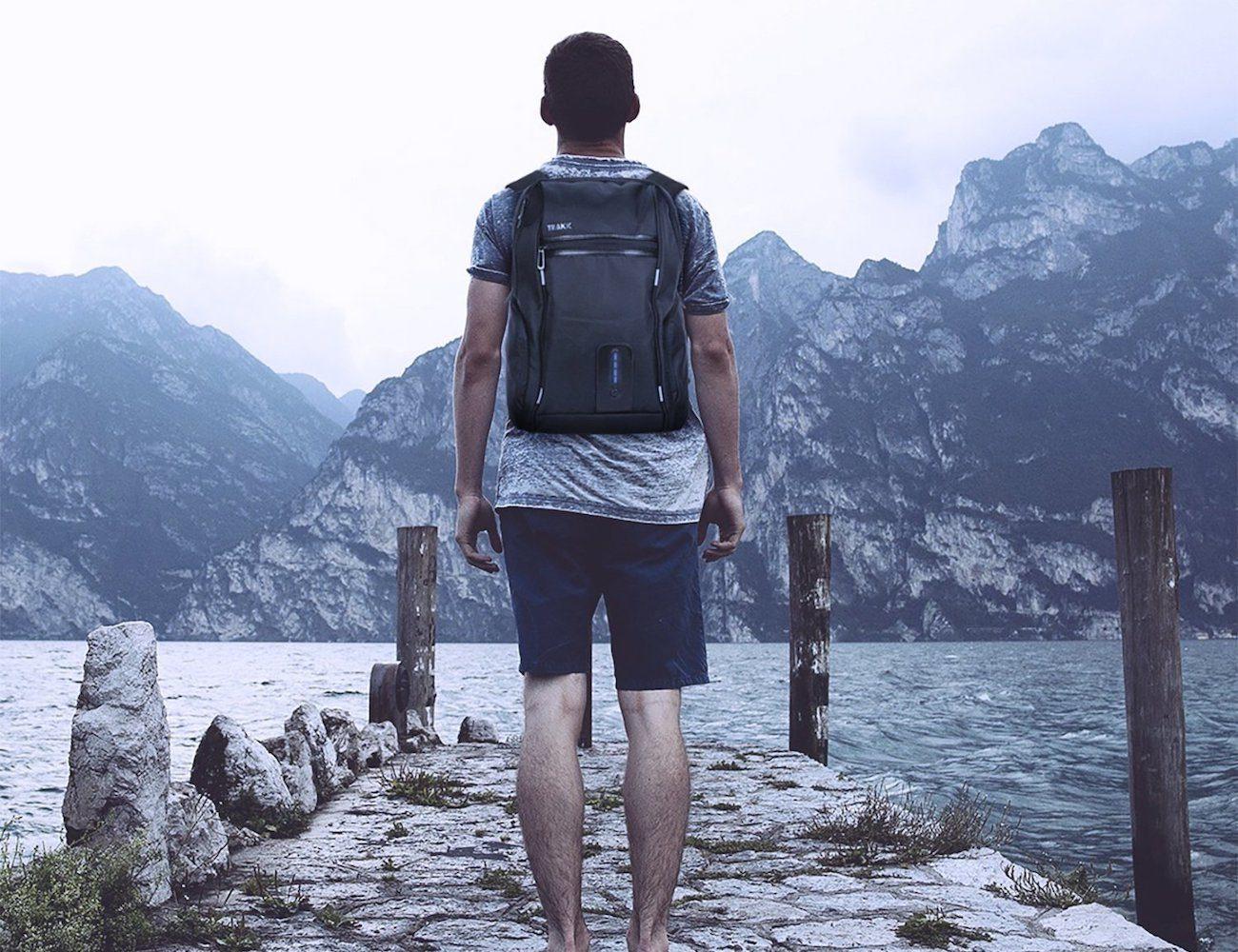 TRAKK+FUEL+Anti-Theft+Backpack