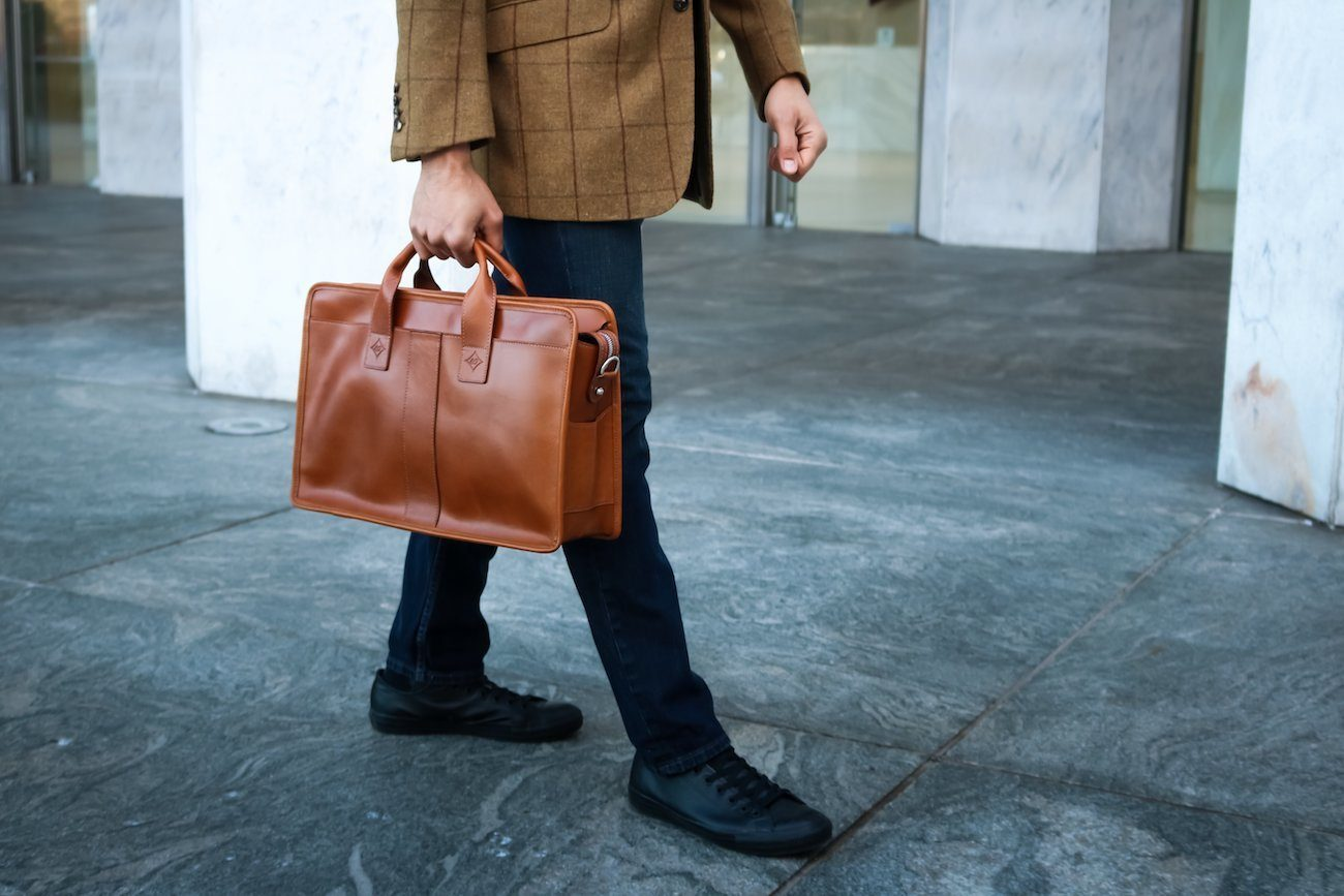 The Vernon Leather Briefcase