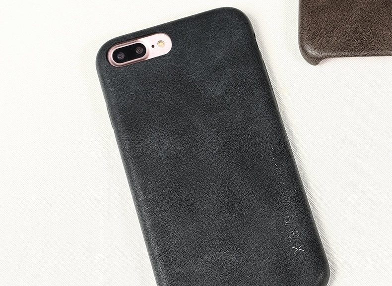 Vintage iPhone 7 Plus Leather Case