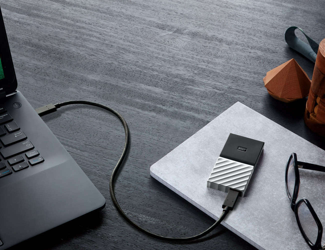 WD My Passport Portable SSD is small yet mighty