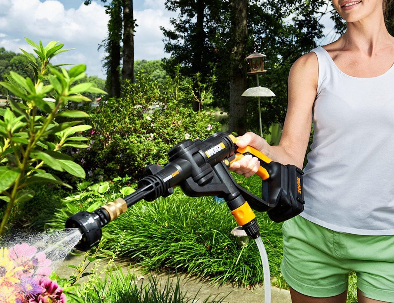 WORX Portable Spot-Cleaning Device