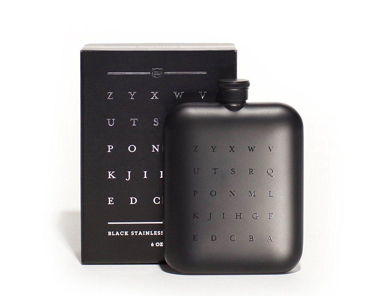 ZYX Matte Black Flask