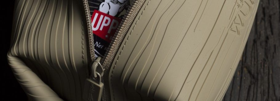 The Würkin Stiffs Doppel Bag is leak-proof for your travels