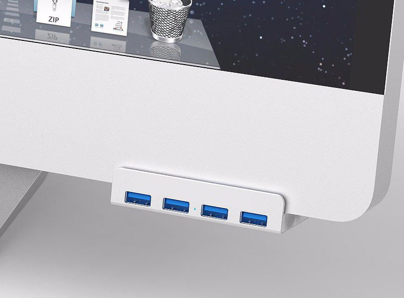 4-Port iMac USB Hub