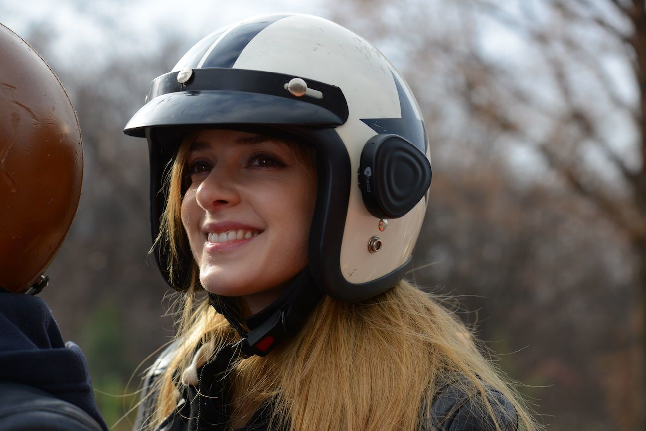 Ahead Helmet Communication Device
