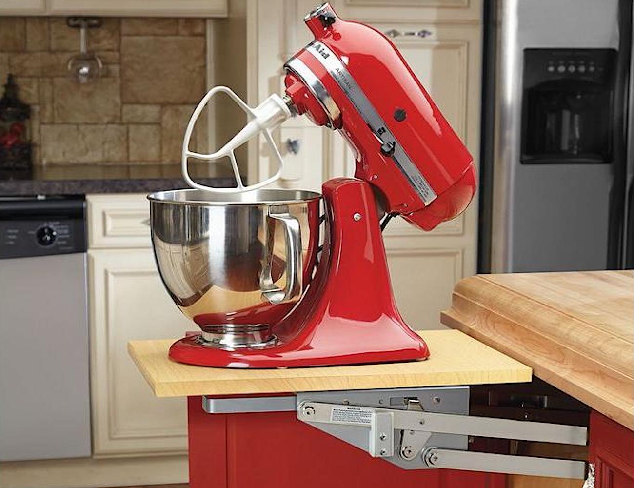 Kitchen Appliance Lift Mechanism