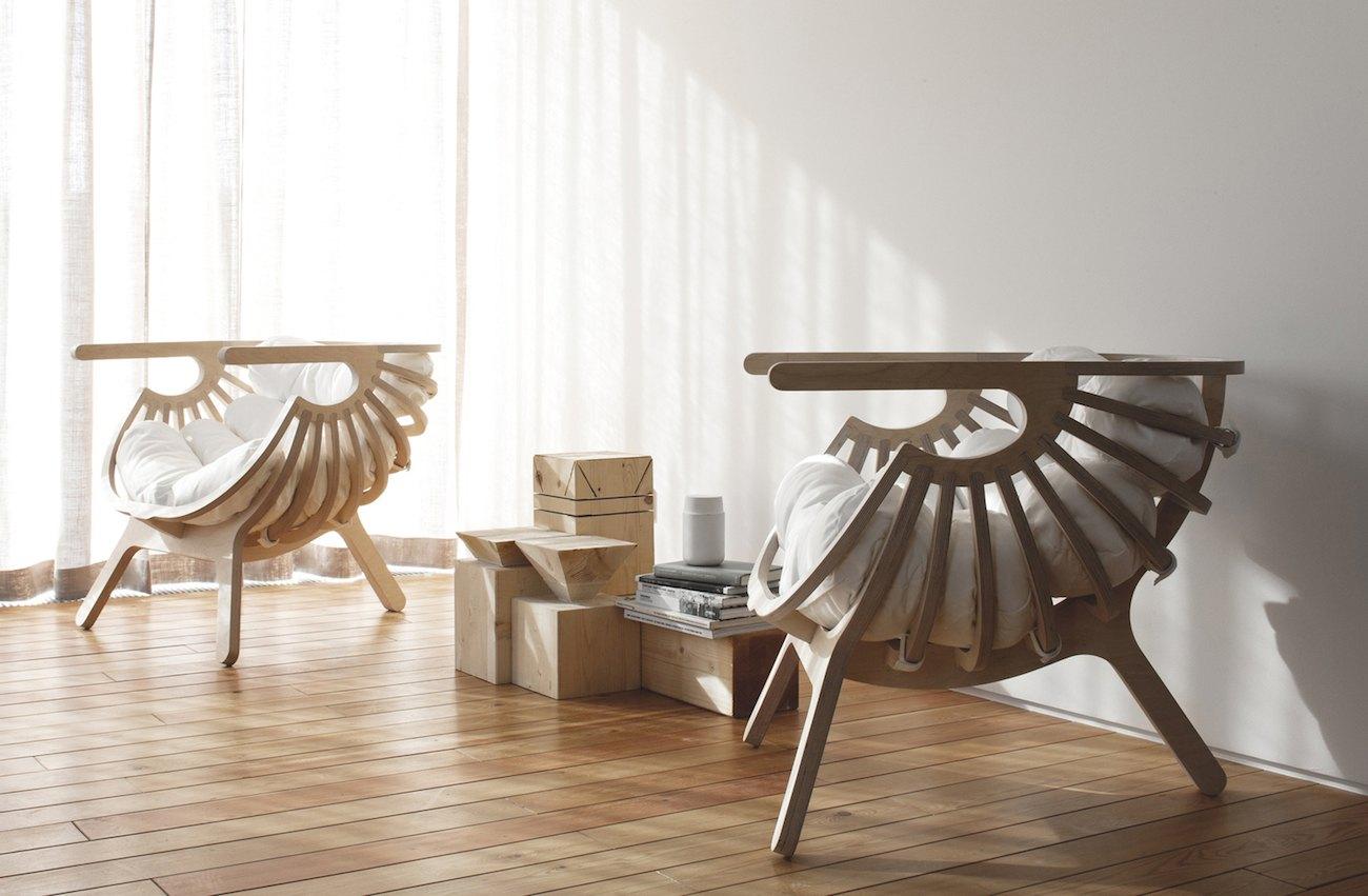 Branca Shell Lounge Chair