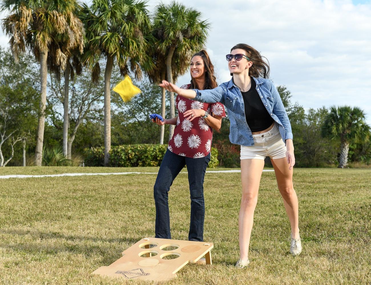 Bru-Bag Bean Bag Toss Lawn Game