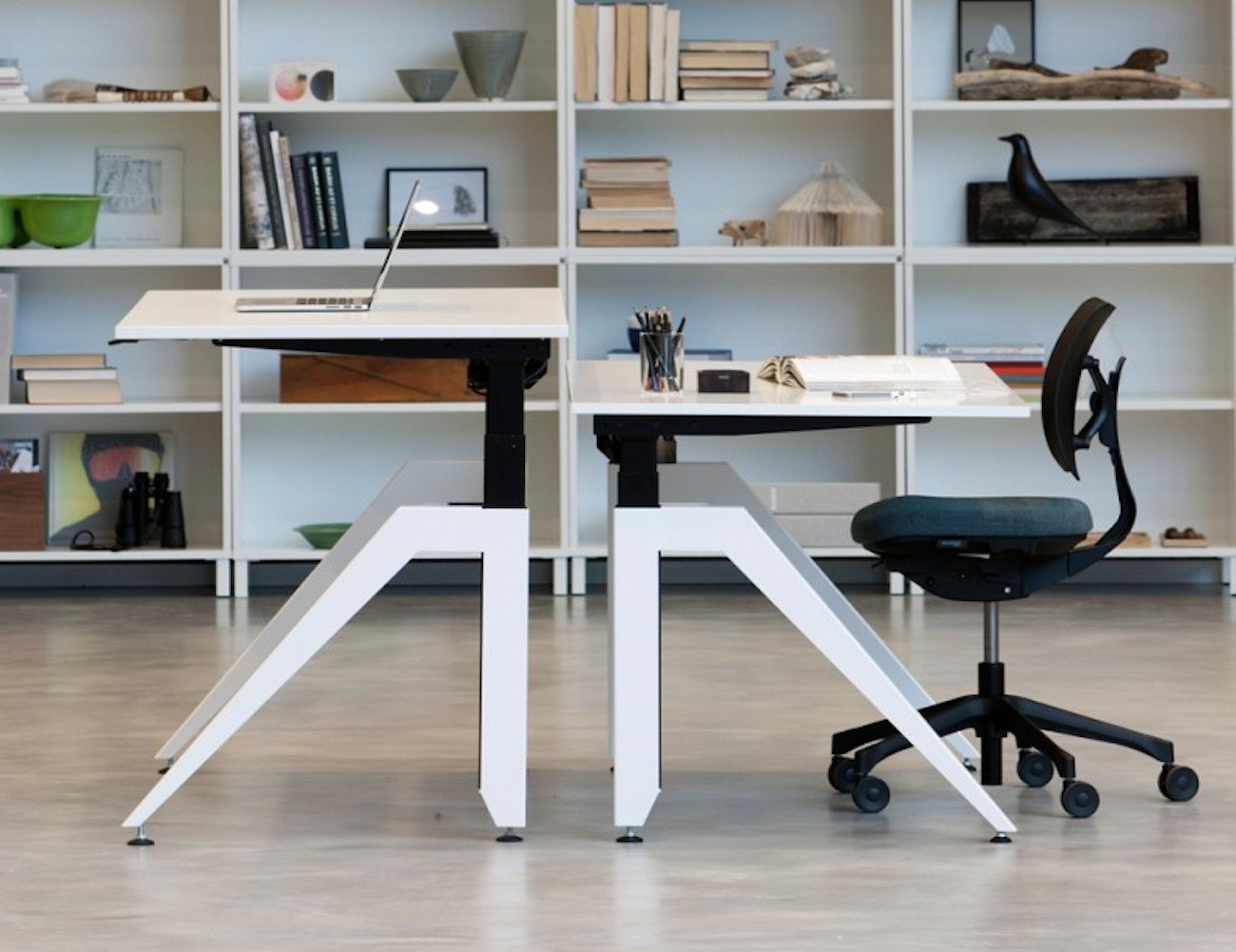 Cabale Modern Workstation Desk