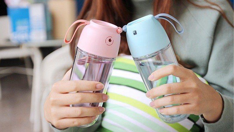 Cartoon Themed Water Bottle