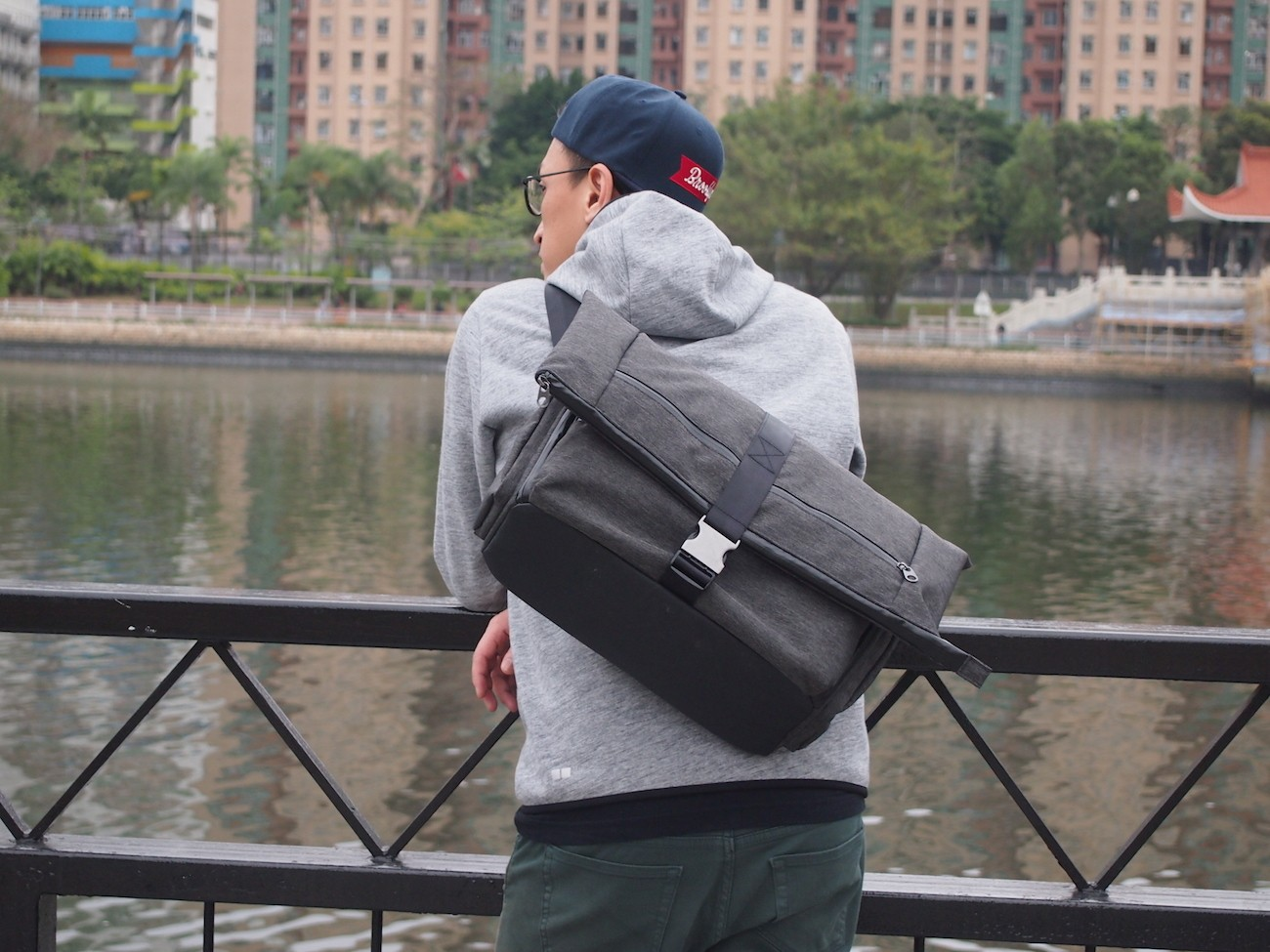 Convertible Expandable Backpack