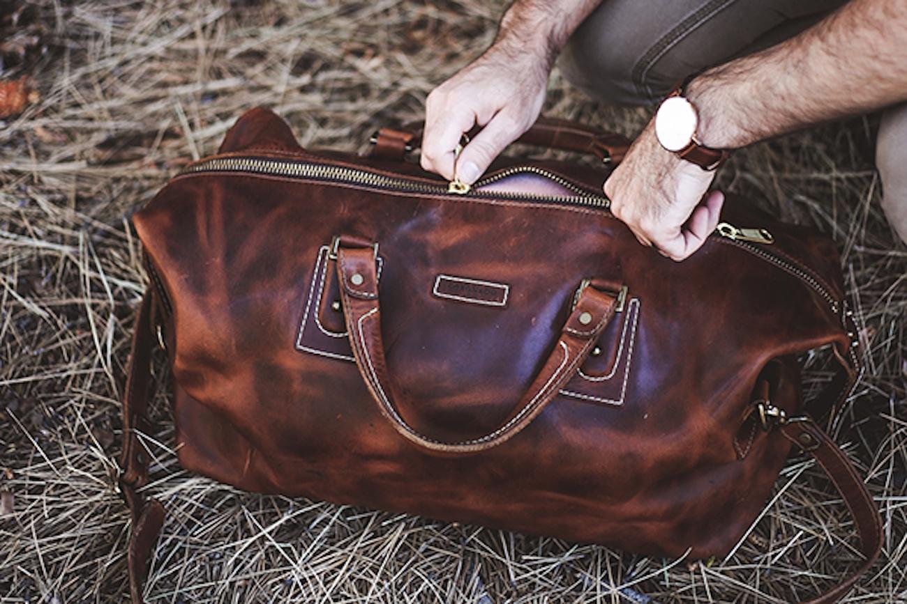 Coronado Americana Leather Duffle