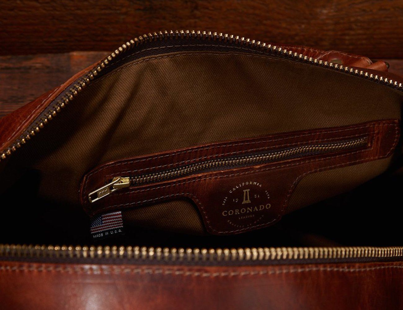 Coronado Americana Leather Duffle