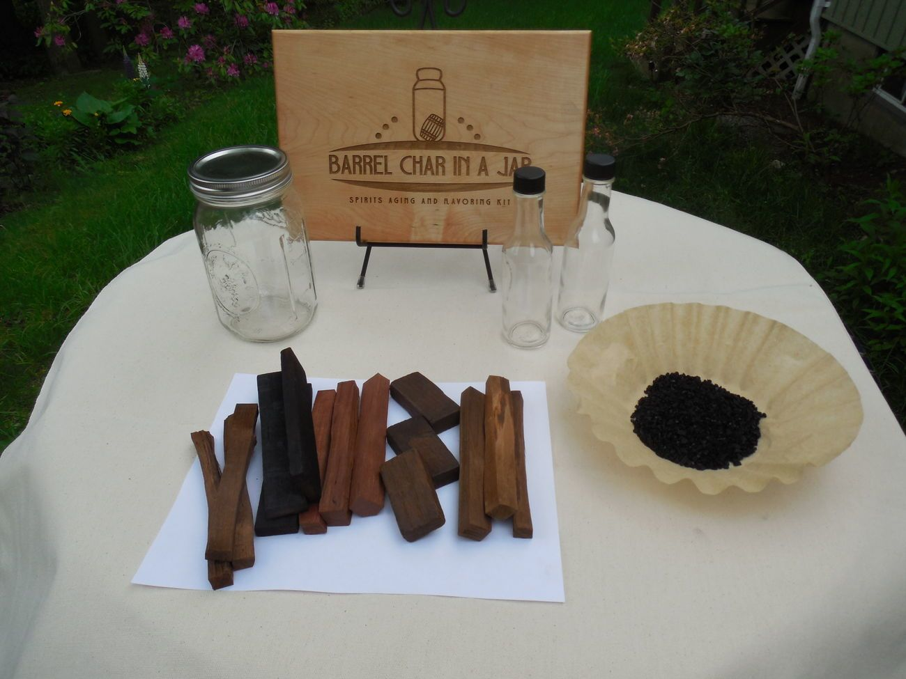 Barrel Char in a Jar Kit
