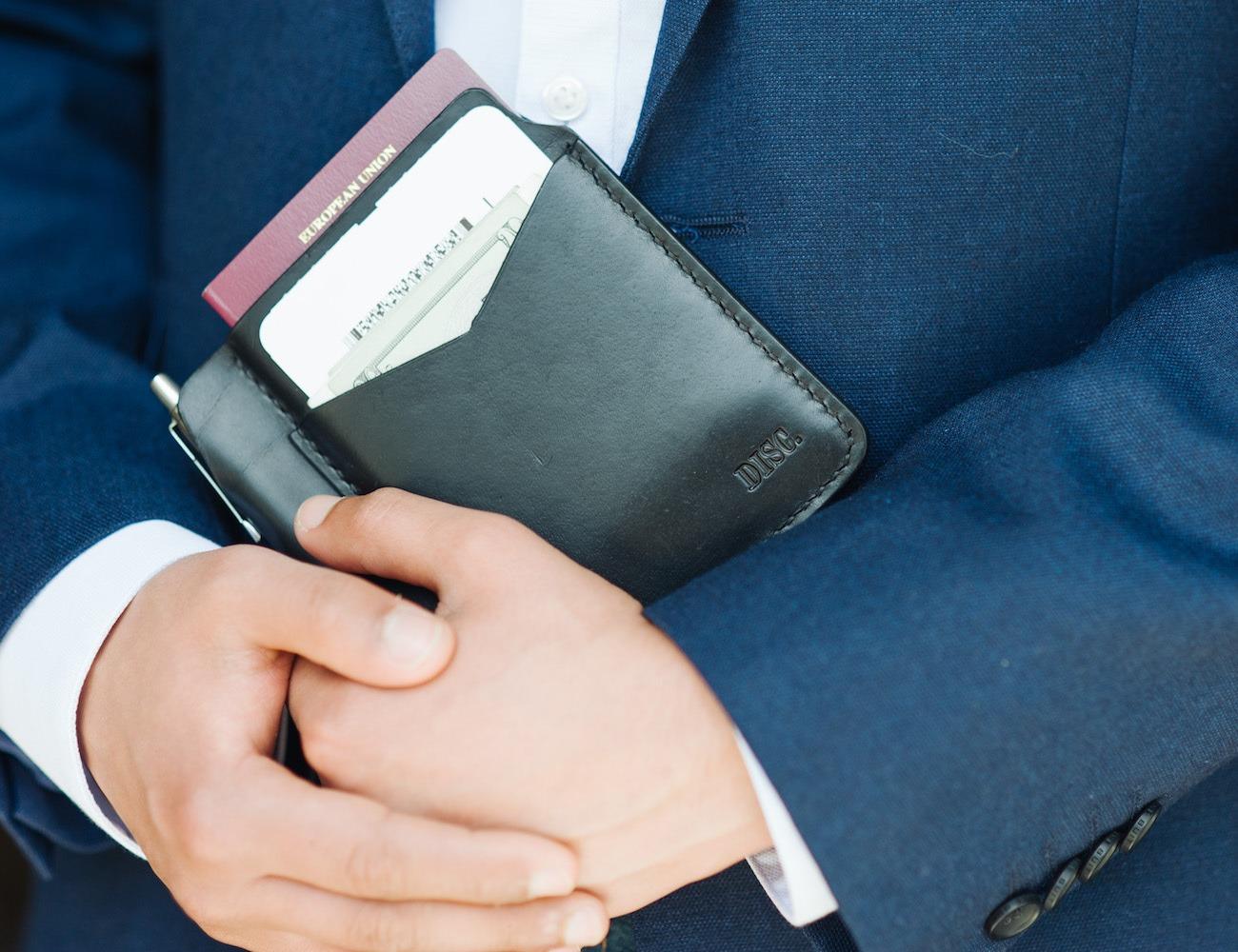 Disc Passport Travel Wallet