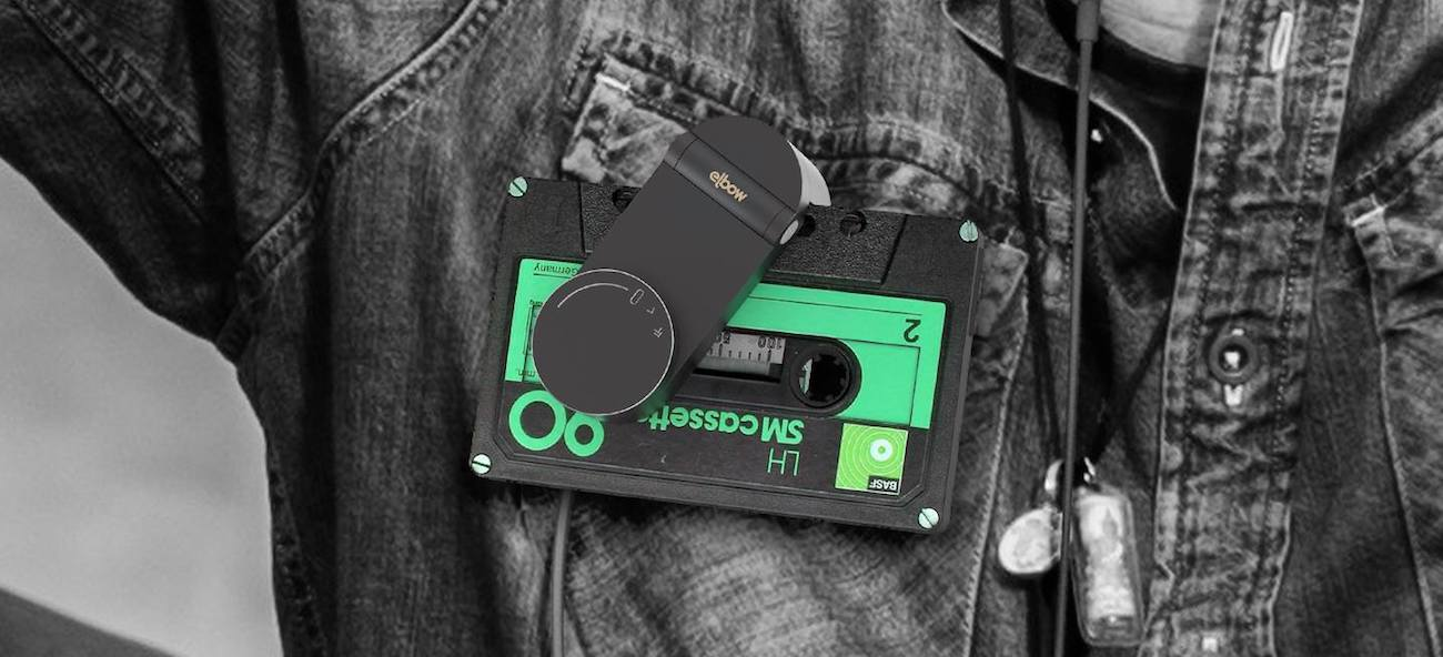 Elbow Cassette Tape Turntable