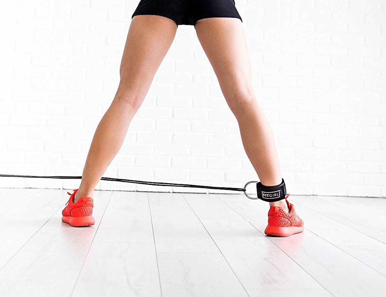 FITGIRL Padded Fitness Ankle Strap