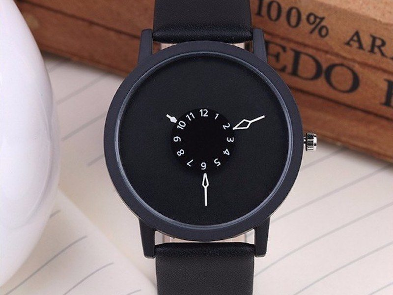Fancy Creative Wristwatch with a Unique Dial